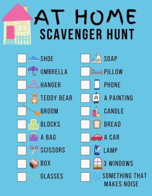 Indoor Scavenger Hunt - These 6 indoor activities are a great way to get kids engaged in something other than video games. From board games to scavenger hunts, these indoor activities harness your child's creativity, critical thinking skills, and more, making it easy to break up screen time with something more constructive.
