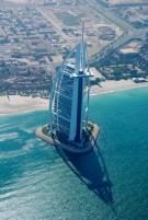 L'hôtel Burj Al Arab ...