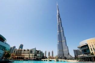 Burj Khalifa et sa fontaine !