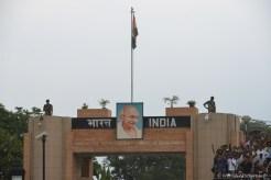 A la frontiere Inde Pakistan