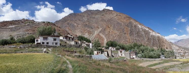 Habitat du Zanskar - Maison traditionnelle