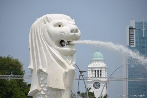 Le lion, symbole de la ville