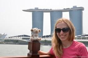 N'agneau et le Marina Bay Sands