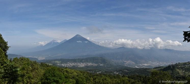 Volcan El Fuego, vu du Pacaya