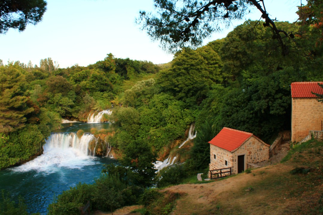 krka, croatia, park, travel