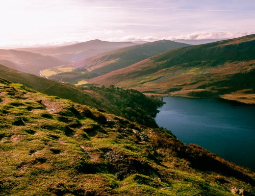 Lough Tay, 2 day trips from Dublin