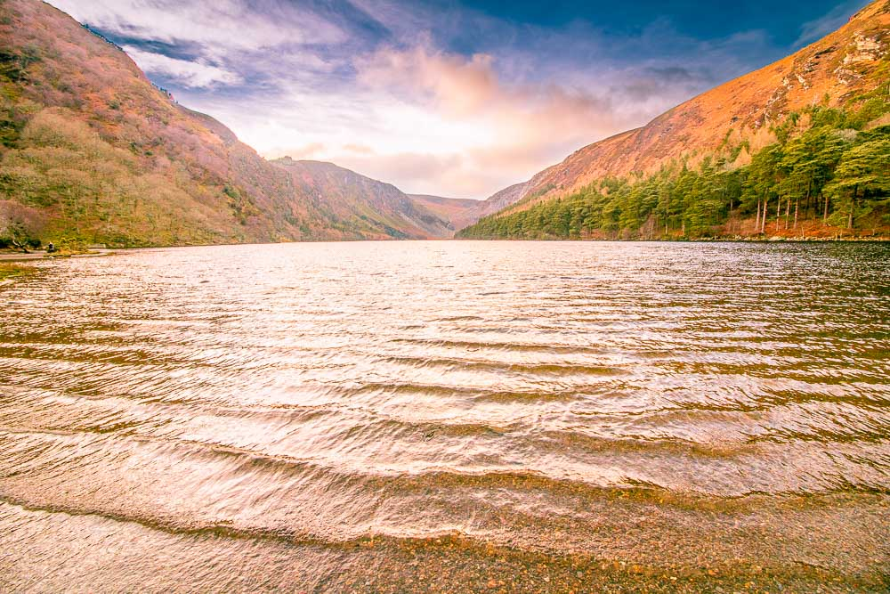 Glendalough Upper Lake, 2 day trips from Dublin