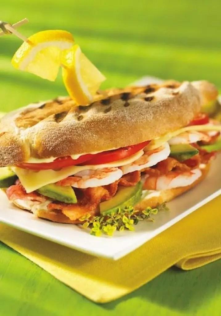 Turkey Cheese And Pear Sandwich