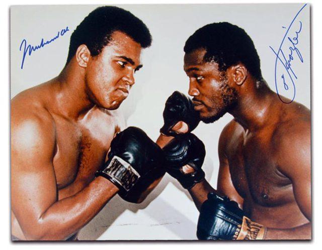 Muhammad Ali &Amp; Joe Frazier