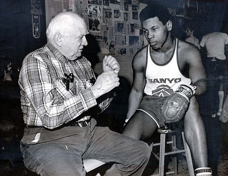 Mike Tyson At Age 14 With Cus D'Amato 1980