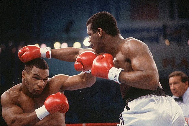 Mike Tyson Against Michael Spinks