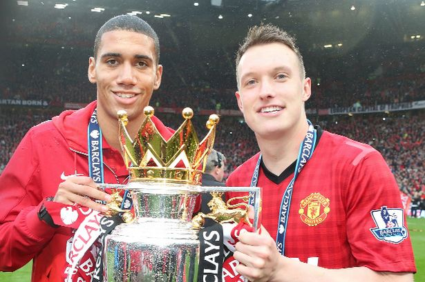 Smalling and Jones: Have to make the step up. Photo courtesy manchestereveningnews.co.uk.