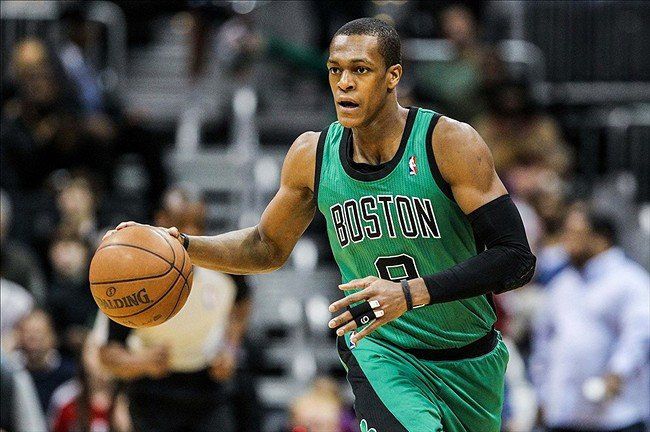 Boston Celtics Point Guard Rajon Rondo