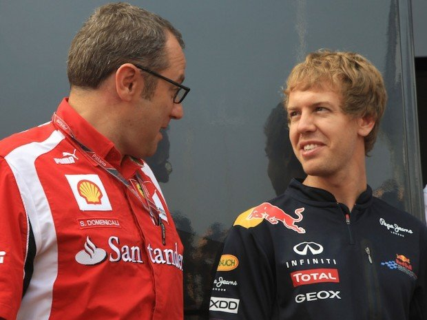 Vettel Alla Ferrari Dal 2014Ma Come La Prendera Alonso 2408 E1407664285602