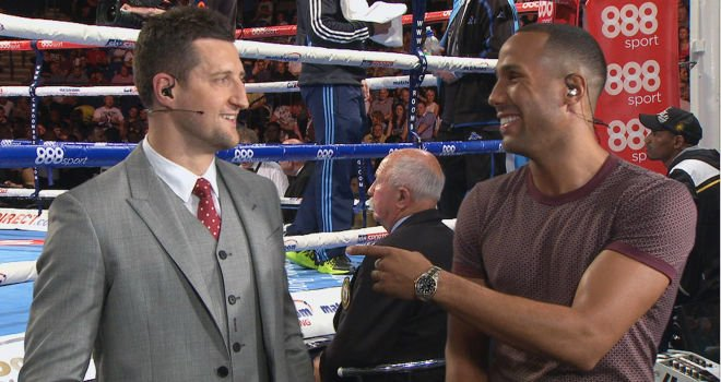 Carl Froch would rather face Julio Chavez Jr than face James DeGale