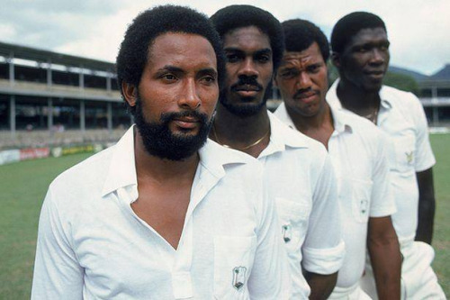 Bowling Quartet Of West Indies Team In 1980S