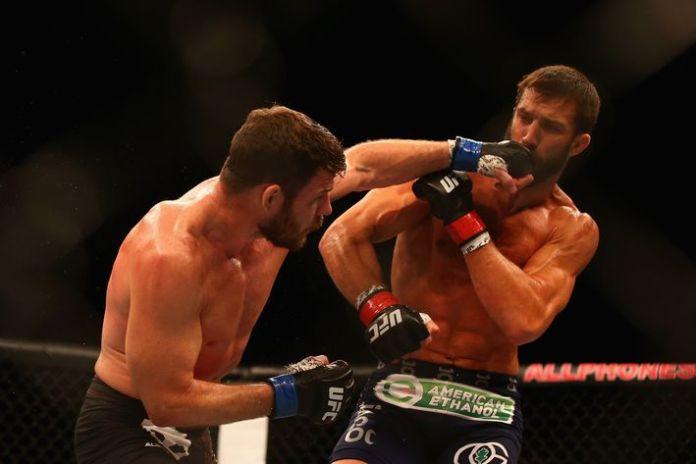 Bisping Rockhold UFC199