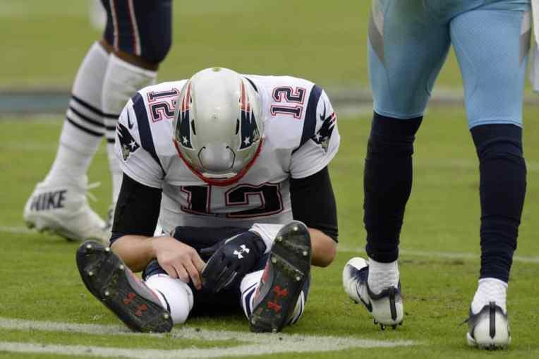 Tom Brady Sacked