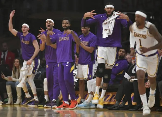 Lakers Bench 2