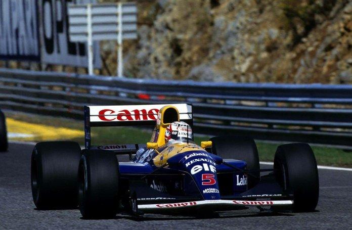 Nigel Mansell - Portuguese Grand Prix. Estoril