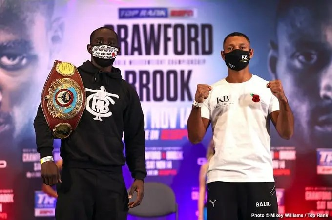 Terence Crawford Vs. Kell Brook: Fight Preview