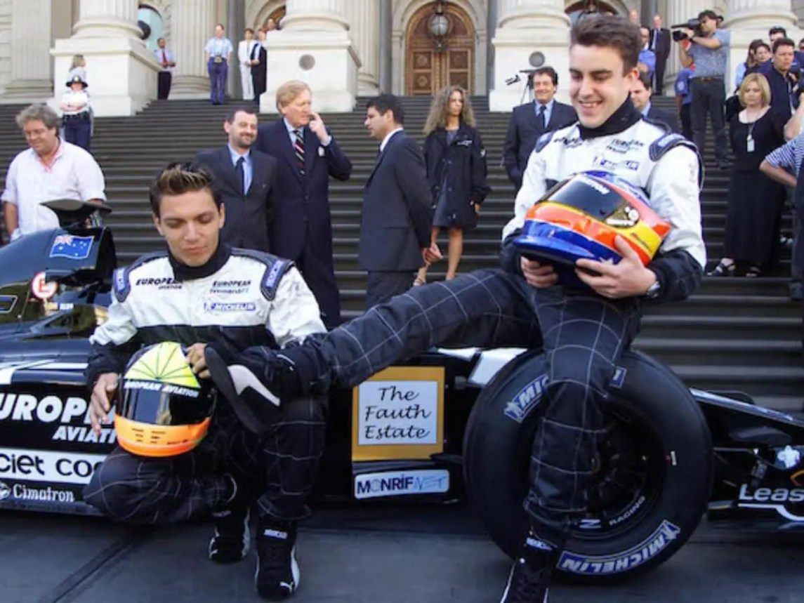 Alonso Made His Debut In Formula One With Minardi