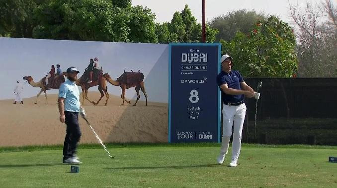 European Tour Golf In Dubai