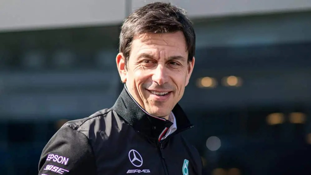 Toto Wolff Announced A 3-Year Extension At Mercedes