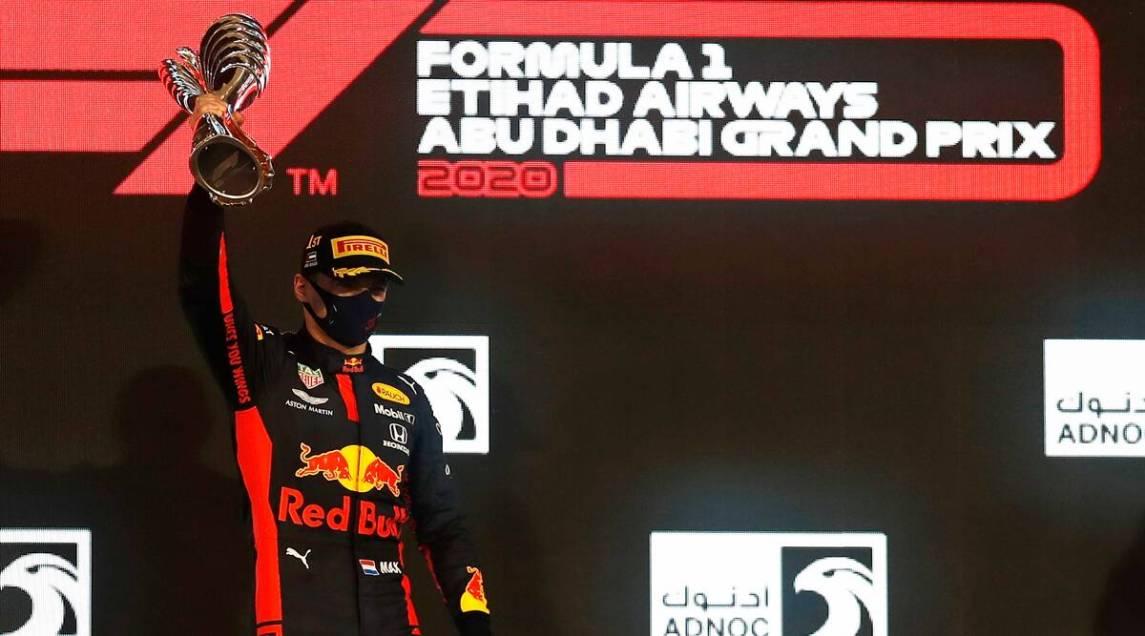Verstappen Won The Last Race Of The Season Abu Dhabi Gp