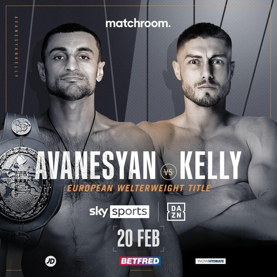 Matchroom Boxing Kelly Vs Avanesyan