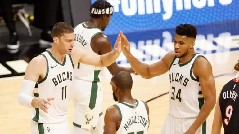 Milwaukee Knocked Down A Record-Setting 29 Three-Pointers.