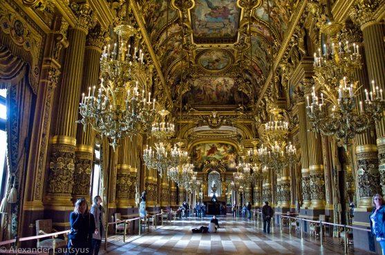 Парижская Опера (Palais Garnier)