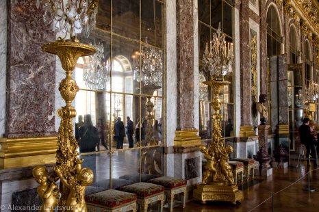 Декорации в Зеркальном зале
