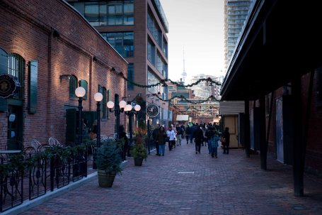Distillery District Street