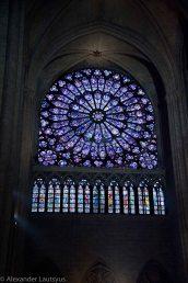Notre-Dame-rose window