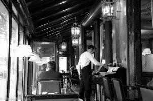 Cafe de la Paix beside of Opera