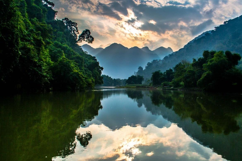 Vietnam nature : Ba Be National park