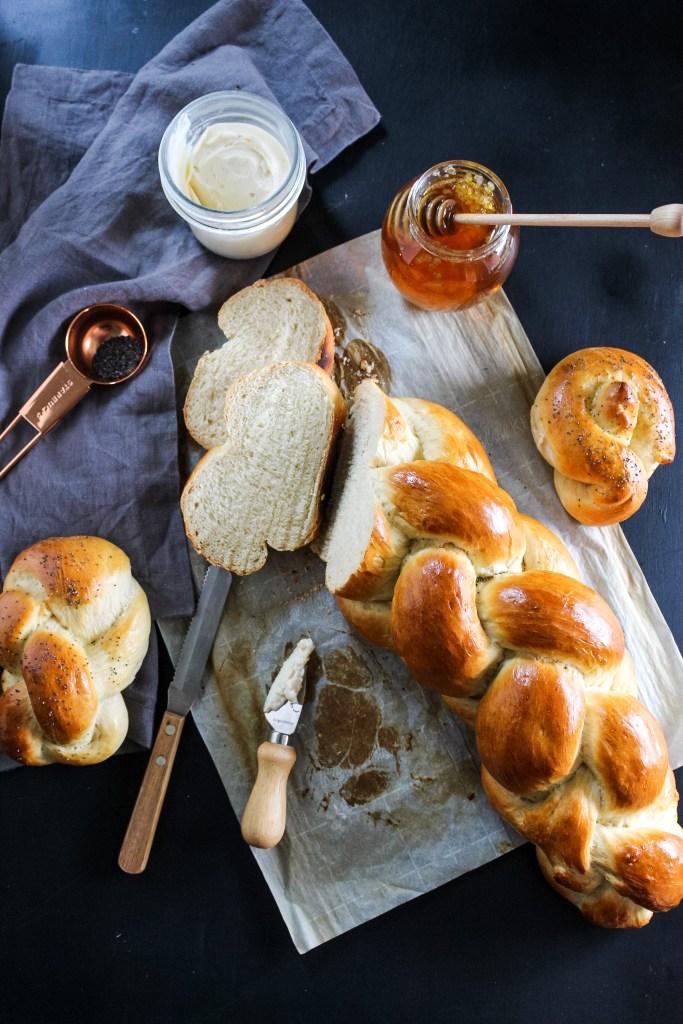 easy zopf (challah) bread