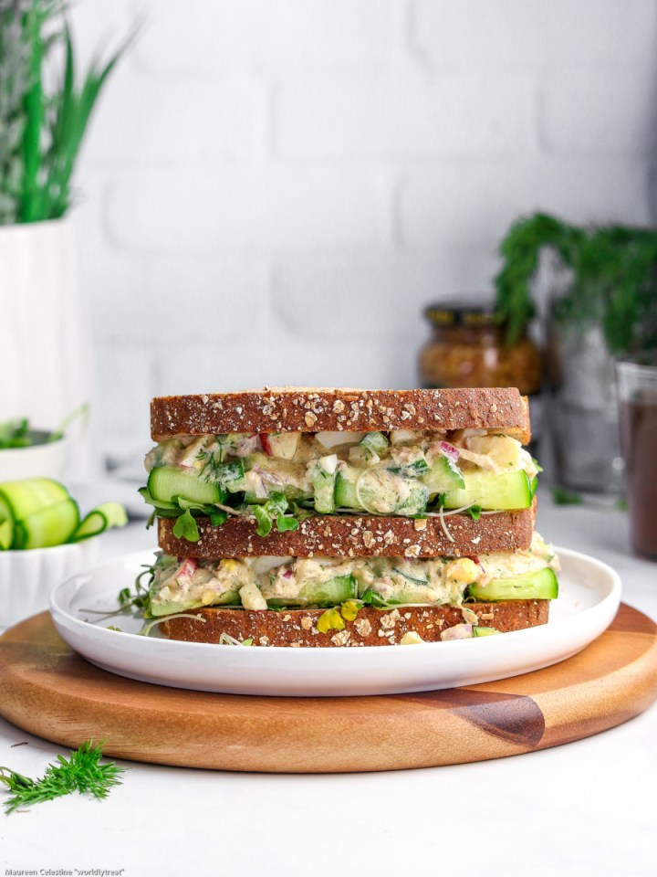 tuna cucumber salad