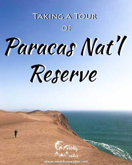 tour of paracas national reserve