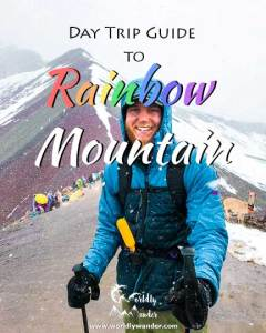 how to get to rainbow mountain peru