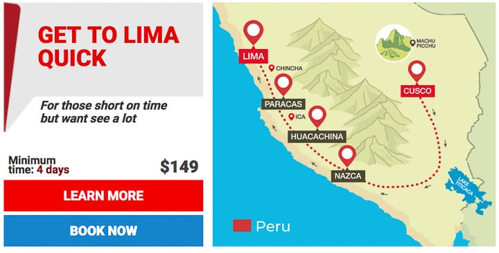 get to lima quick - 720