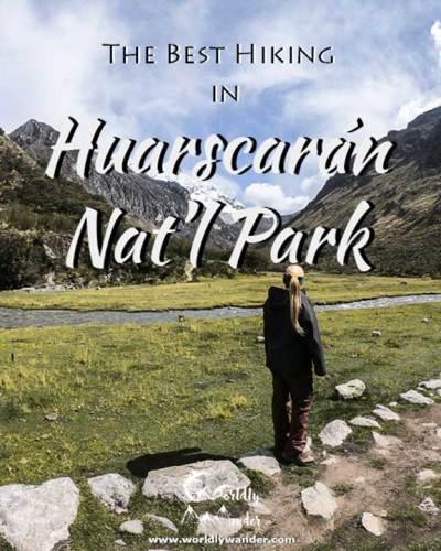 best hiking in huascaran national park