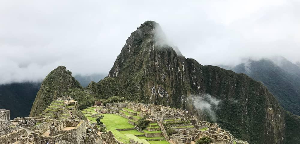 machu picchu pachamama and huayna picchu mountain