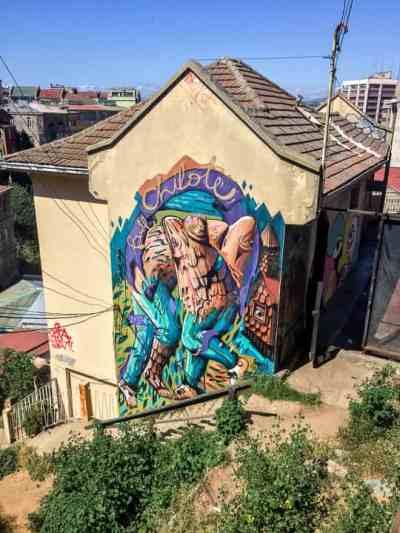Valparaiso 2 Day Guide: Street Art Fishermen