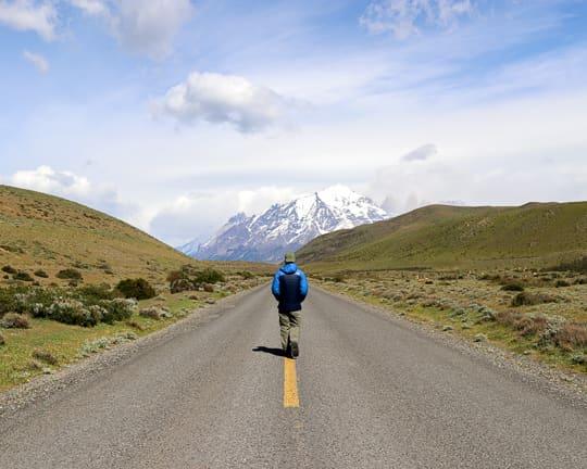 Torres del Paine Road to Patagonia