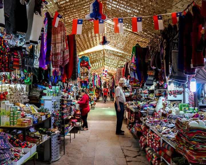 San Pedro de Atacama Market Shopping