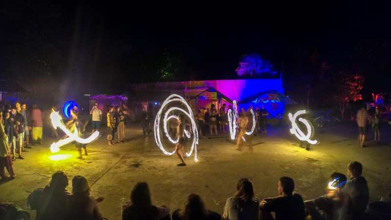 Budget Friendly Things to do in Pai: Go to a Fireshow