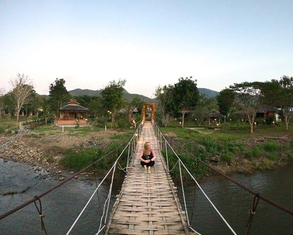 Budget Guide to Pai: Bamboo Bridges