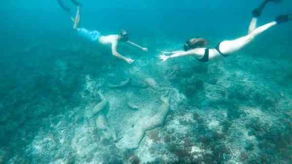 Gili Meno Underwater Sculpture Park 1 - 720 16x9